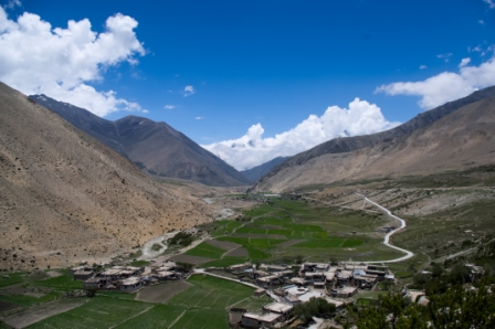 Tibetan part of the Koshi basin_Santosh Nepal