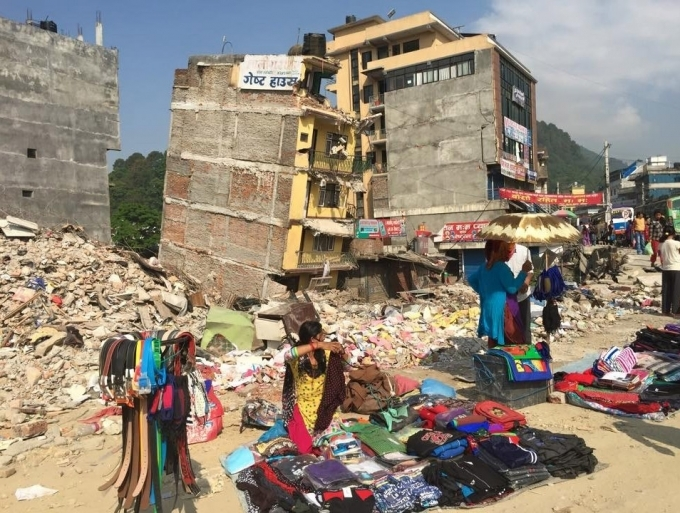 Kathmandu after the first earthquake