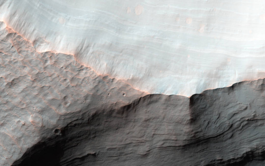 Image Credit: NASA/JPL-Caltech/Univ. of Arizona Caption: Alfred McEwen