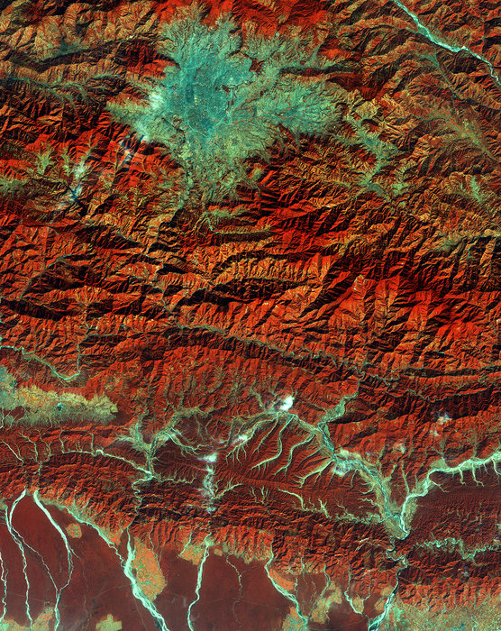 Earth from Space: Kathmandu. Credit: ESA